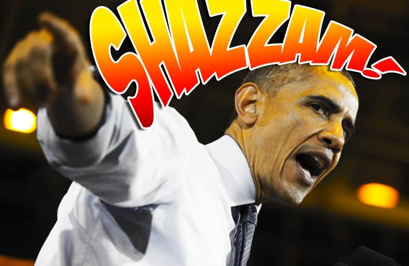 Obama pointing Shazzam
