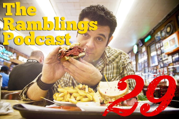 The Ramblings Podcast: Episode 29 - Foodie Talk, Grassroots Activism, and Dre Rants about Contradictions in Society