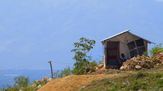 Haiti shack